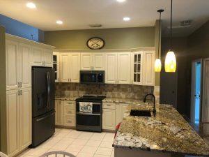 kitchen remodel tile backsplash