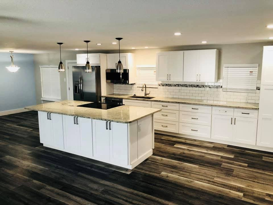 remodeled kitchen in port st lucie