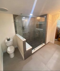 shower stall remodel port st lucie