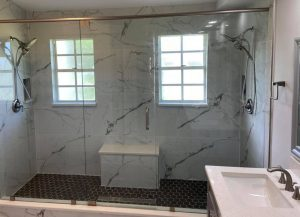 bathroom remodel by Home Renovations By Jeffrey Scott